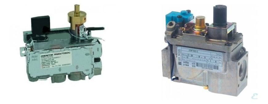 Valvula gas horno H.