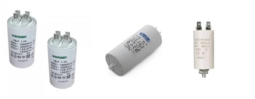 - Condensador electrico standard