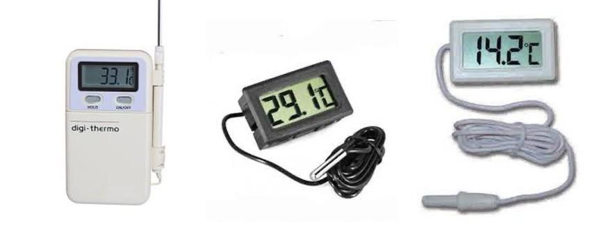 - Termometro aire acondicionado