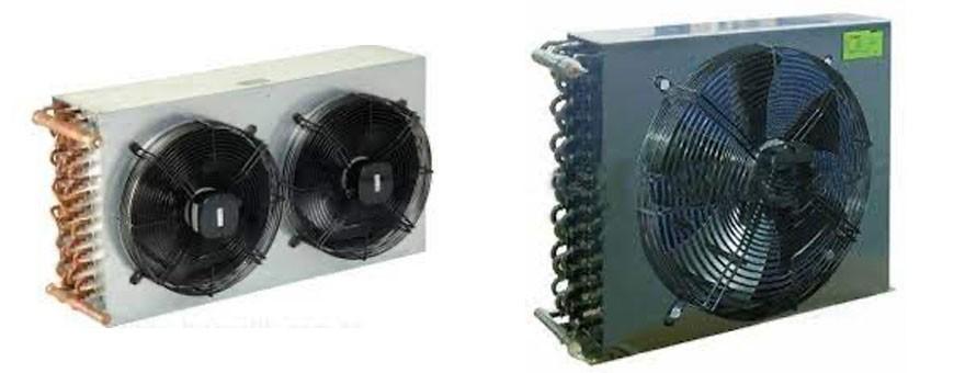 Condensador aire camara