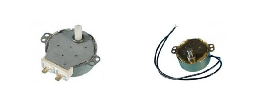 - Motor microondas