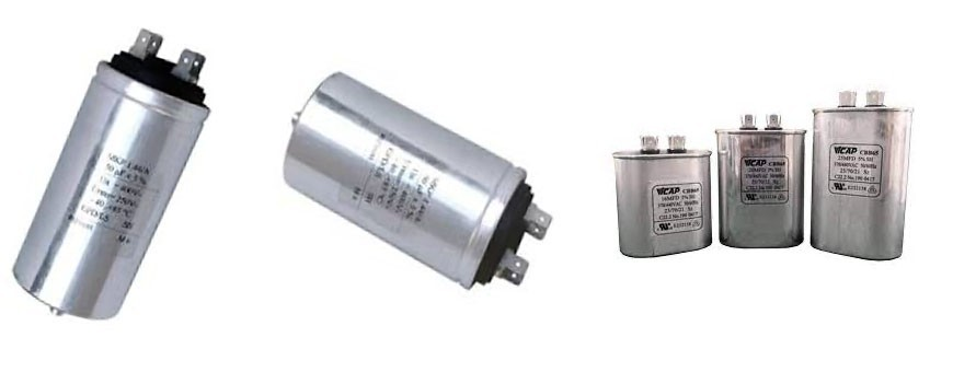 - Condensador metalico